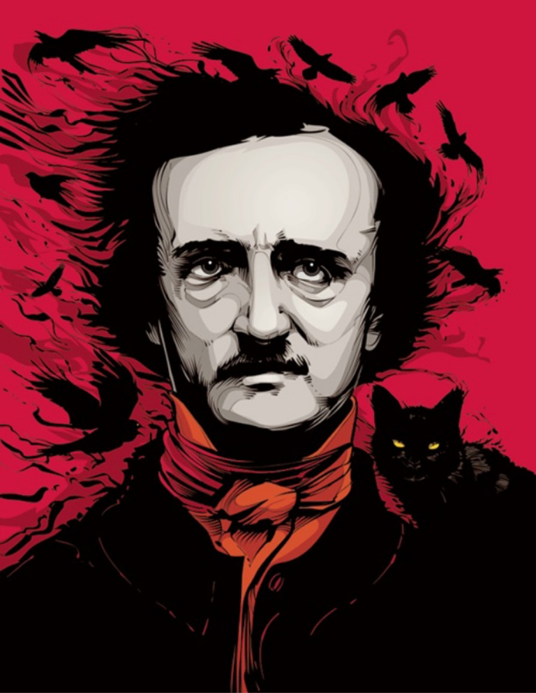 edgar allen poe writing Edgar allen poe was an american author, poet, editor and literary critic, considered part of the american romantic movement best known for his tales of mystery and the macabre, poe was one of the earliest american practitioners of the short story and is considered the inventor of the detective fiction genre.